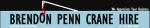 Brendon Penn Crane Hire